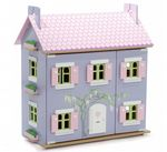 Lavender Dolls House and furniture